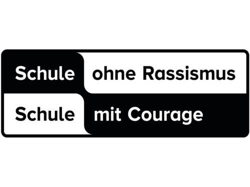 """Das Logo von """"Schule ohne Rassismus - Schule mit Courage"""""""