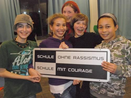 Titelverleihung an der Glocksee-Schule am 21.November 2008