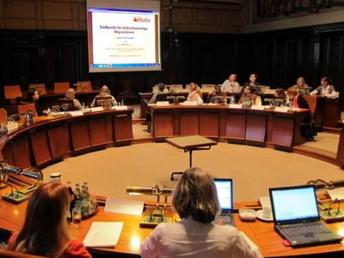 Bilder von der Sitzung des Internationalen Ausschusses vom 11. Oktober 2012