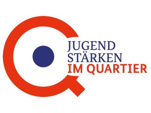 "Das Logo des Programms: ""JUGEND STÄRKEN im Quartier"""