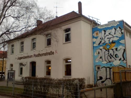 Jugendzentrum Posthornstraße - Außenaufnahme