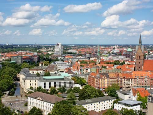 Blick über Hannovers Innenstadt