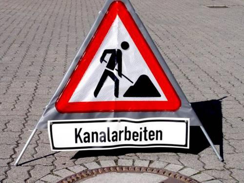 Kanalbaustellen in Hannover