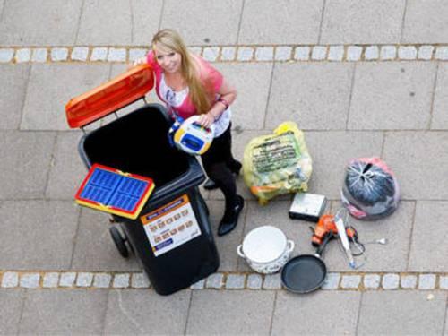 Klare Mülltrennung