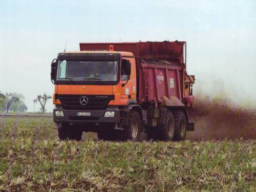 Landwirtschaftliche Klärschlammverwertung