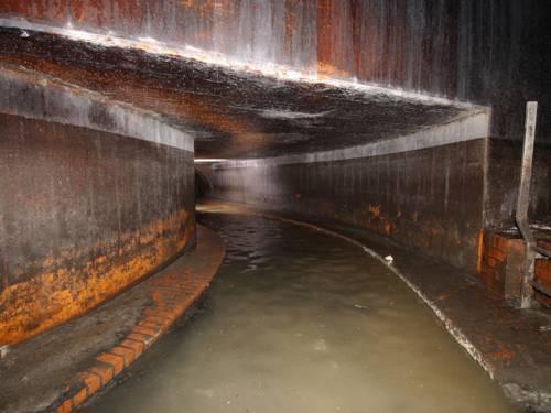 Kanalsystem unter Hannover