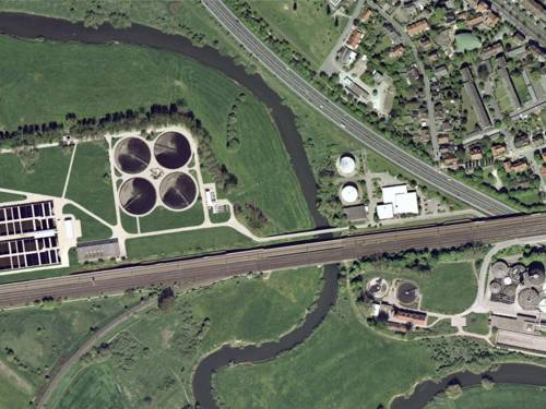 Luftbild Klärwerk Herrenhausen