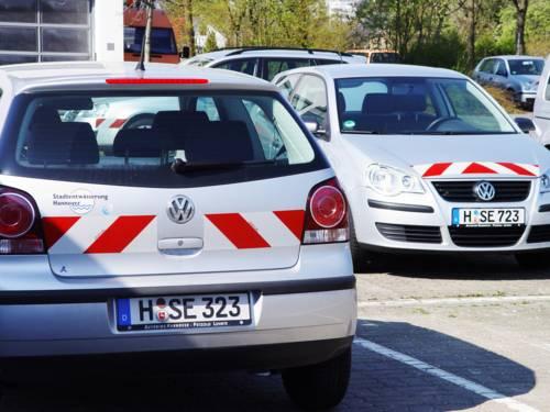 Umweltfreundliche Fahrzeugflotte