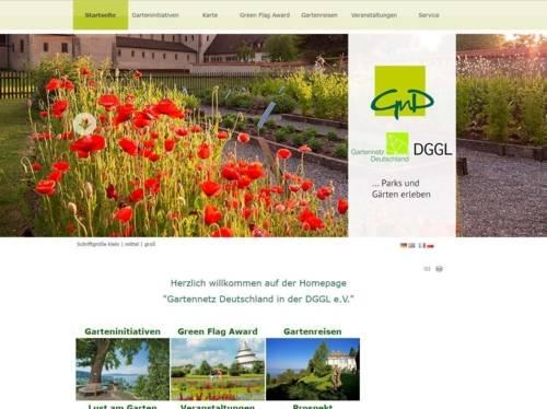 Screenshot einer Internetseite.
