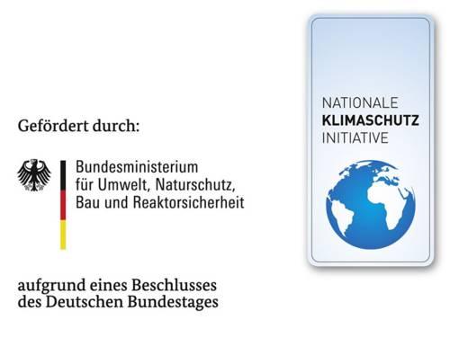 Logo der Nationalen Klimaschutzinitiative des Bundesministeriums für Umwelt, Naturschutz und Reaktorsicherheit