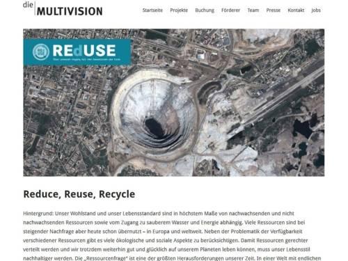 Oberfläche einer Internetseite.
