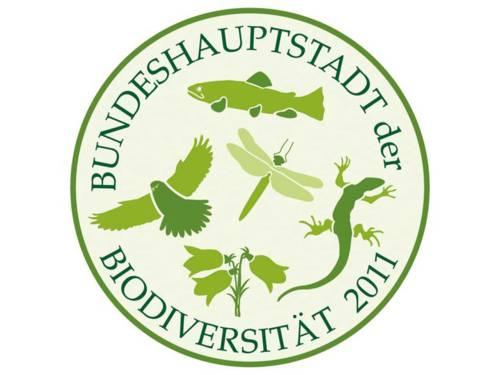 """Logo """"Bundeshauptstadt der Biodiversität"""""""
