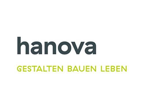 Logo der Firma hanova.