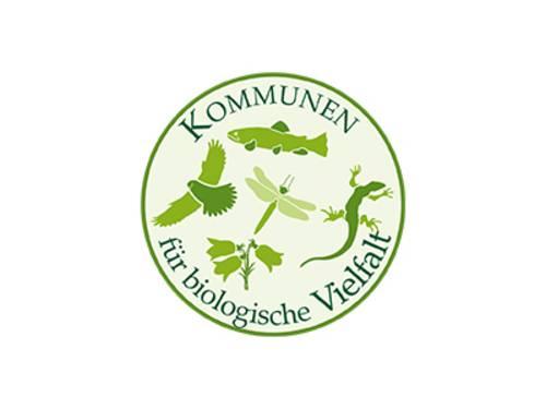 Logo der Kommunen für biologische Vielfalt.