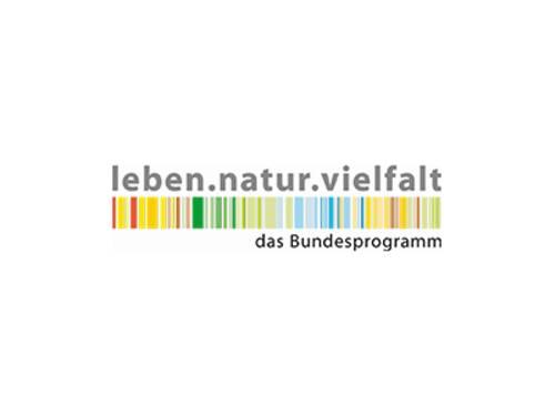 Logo des Programms Leben.natur.vielfalt.