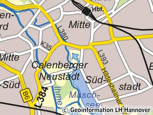 Muster Digitale Stadtkarte