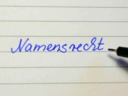 Namensrecht
