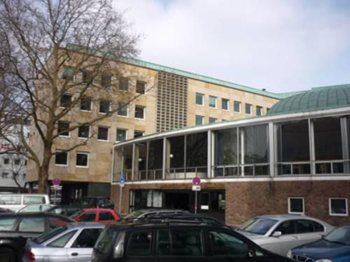 Gebäude in der Johannssenstraße