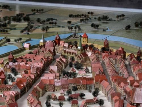 Modell der Altstadt