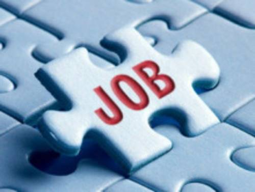 Dieses Bild symbolisiert die Job-Suche in Form eines Puzzle