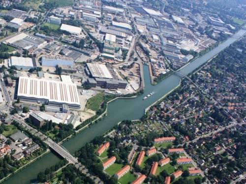 Luftbild Brinker Hafen