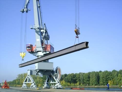 Stückgutumschlag im Nordhafen