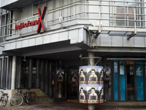 Außenansicht des Theaters Ballhof Zwei.
