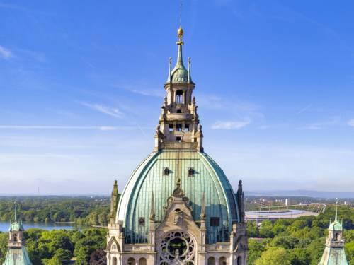 Gebäudedach als Kuppel