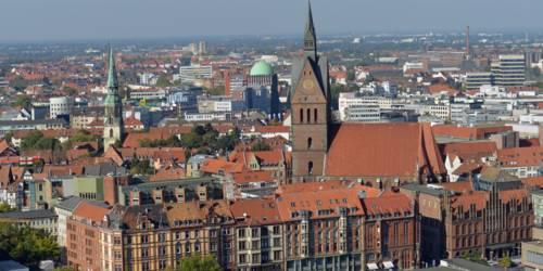 Überblick über eine Stadt
