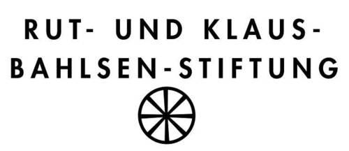 Logo mit der Aufschrift Rut- und Klaus-Bahlsen-Stiftung