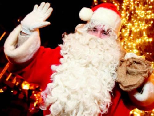 Ein Weihnachtsmann.