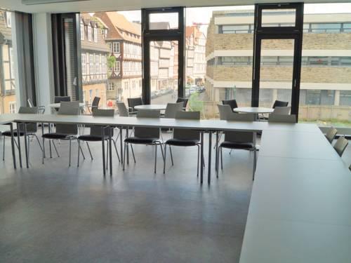 Lehrraum mit Ausblick auf die Altstadt und das Historische Museum