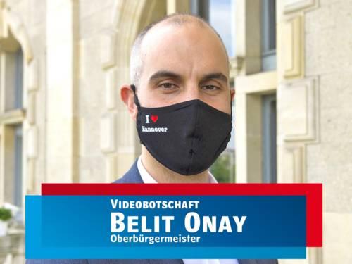 OB Belit Onay mit Maske