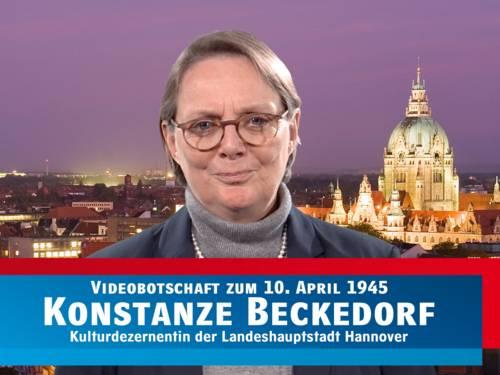 Konstanze Beckedorf zum 10. April 1945