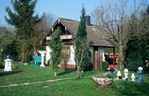 Laube in einem hannoverschen Kleingarten