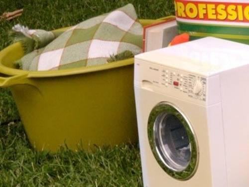 Symbolbild Wäschewaschen