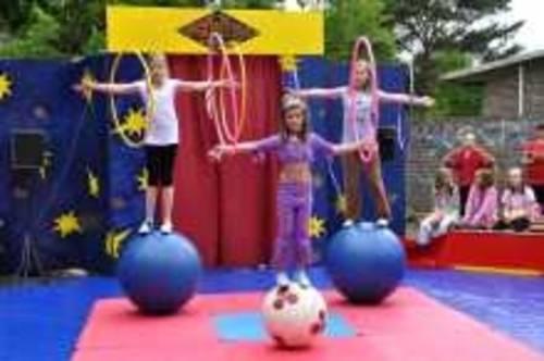 Kinder Zirkus Sahlino