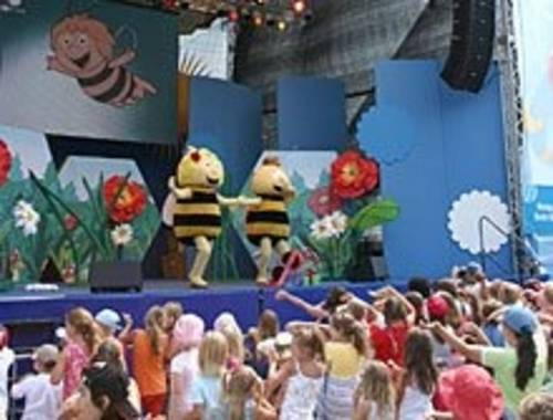 KiKa Sommerfest auf dem Trammplatz