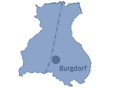 Gebiet der Gemeinde Burgdorf