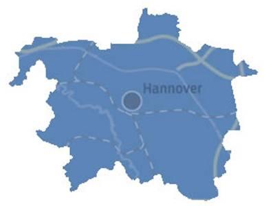 Gebiet der Stadt Hannover