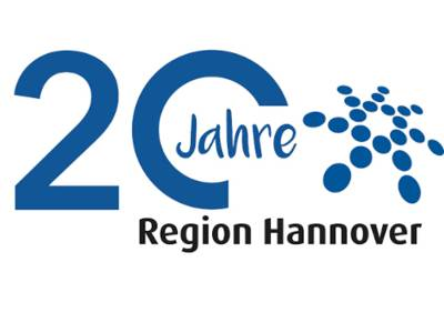 Logo 20 Jahre Region Hannover