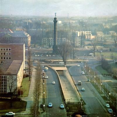 Fertig gestellte Rampe am Waterlooplatz