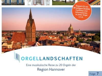 """Vorschauf auf die Doppel-CD """"Orgellandschaften, Folge 7"""""""
