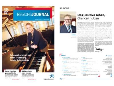 Vorschau auf RegionsJournal 1-2020