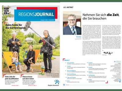 Vorschau auf RegionsJournal 2-2019