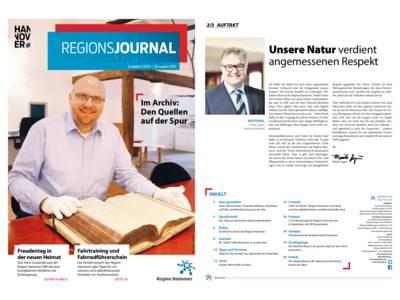 Vorschau auf RegionsJournal 3-2019