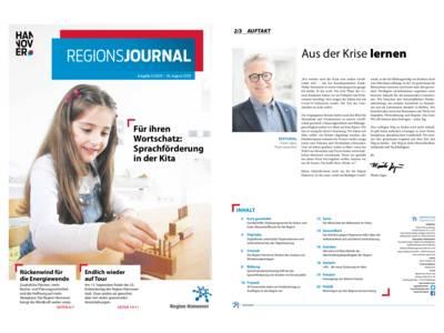 Vorschau auf RegionsJournal 3-2020