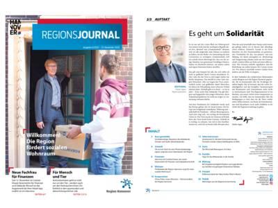 Vorschau auf RegionsJournal 4-2020