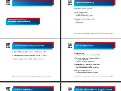"""Vorschau auf die Präsentation zur Informationsveranstaltung """"Speisenkartenkennzeichnung"""""""