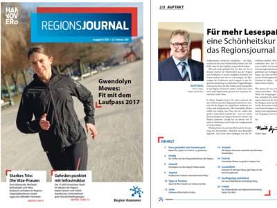 Vorschau auf RegionsJournal 1-2017